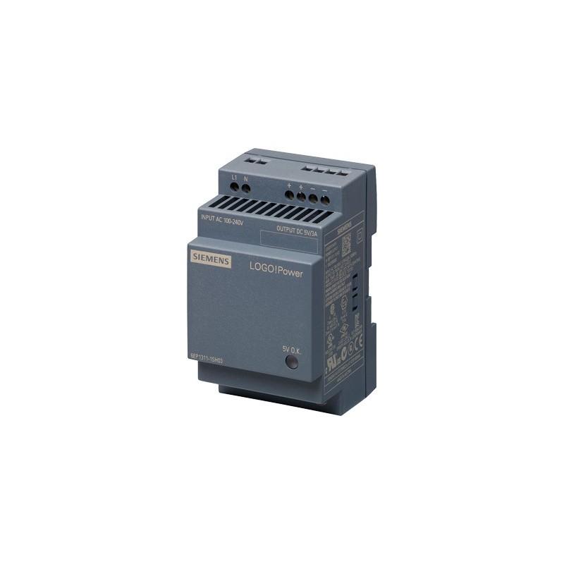 Siemens 6EP1311-1SH03 LOGO!POWER 5 V/3 A ALIMENTATION STABILISEE