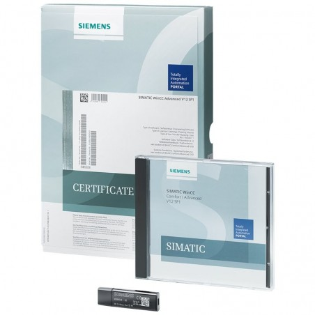 6AV2104-2BD04-0BD0 SIEMENS SIMATIC WINCC RUNTIME ADVANCED POWERPACK 128 POWERTAGS