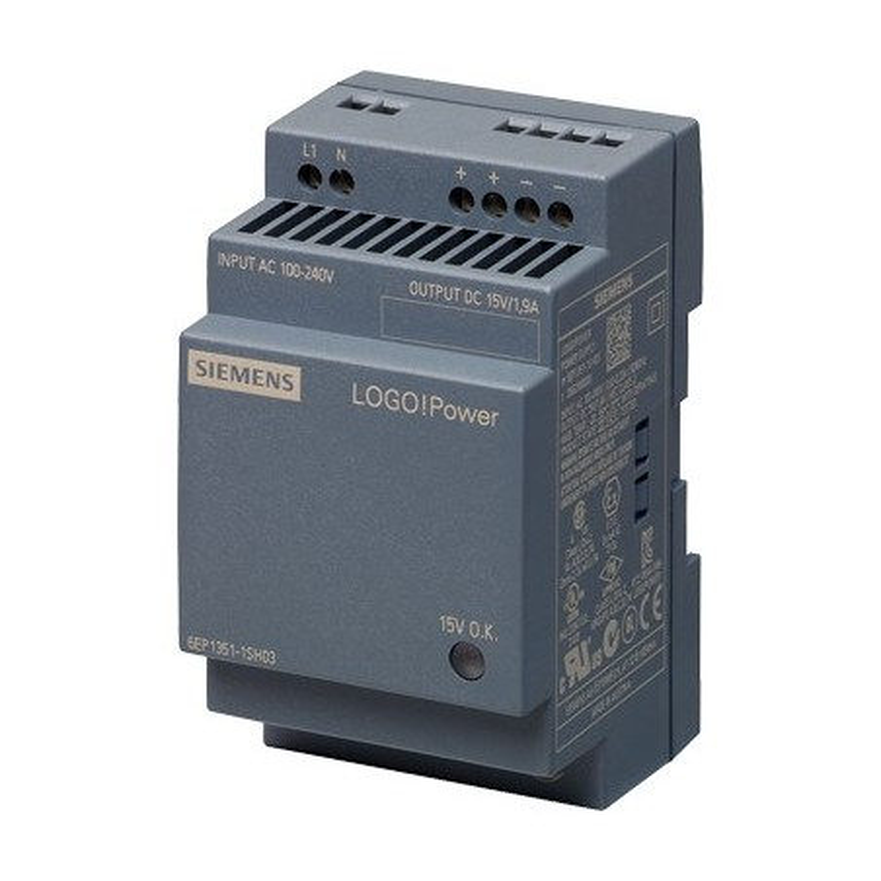 Siemens 6EP1351-1SH03  LOGO!POWER 15 V/1,9 A ALIMENTATION STABILISEE