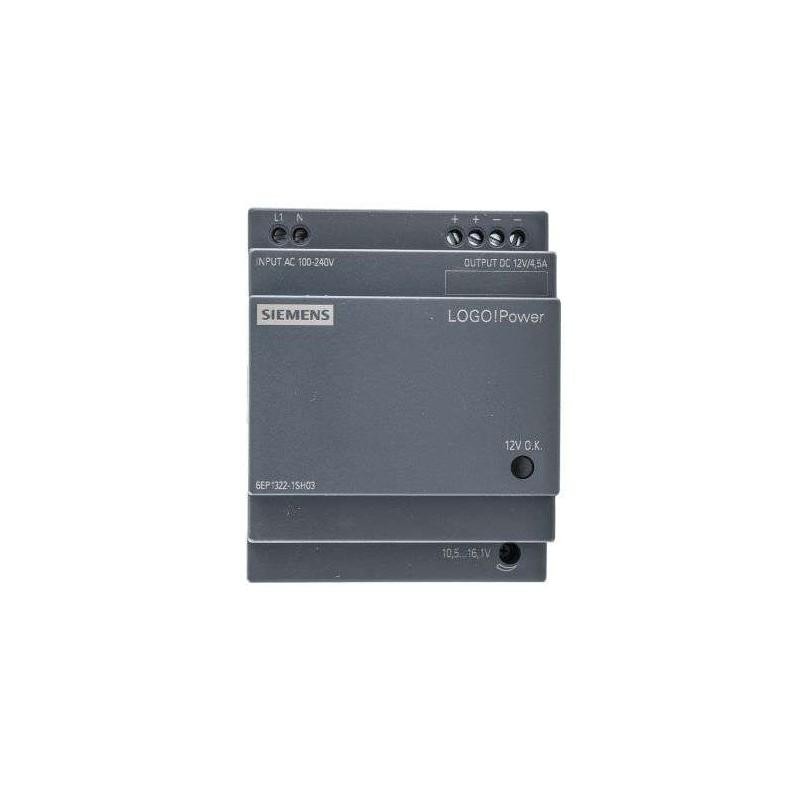6EP1322-1SH03 SIEMENS LOGO!POWER 12 V/4,5 A ALIMENTATION STABILISEE