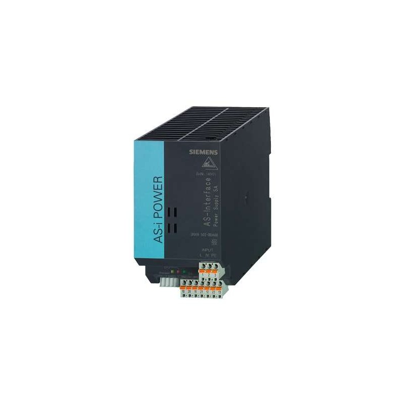3RX9502-0BA00 SIEMENS AS-I POWER 5A 120V/230VCA IP20, BLOC D'ALIMENTATION