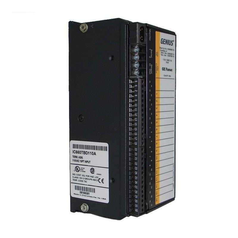 IC660BBD110 GE FANUC I/O...