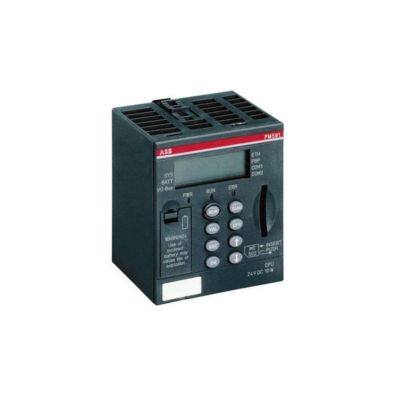 PM581 ABB - Programmable Logic Controller 1SAP140100R0100