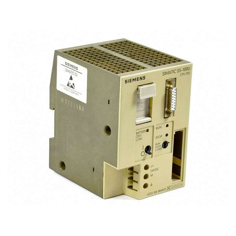 6ES5103-8MA01 Siemens SIMATIC S5 CPU 103